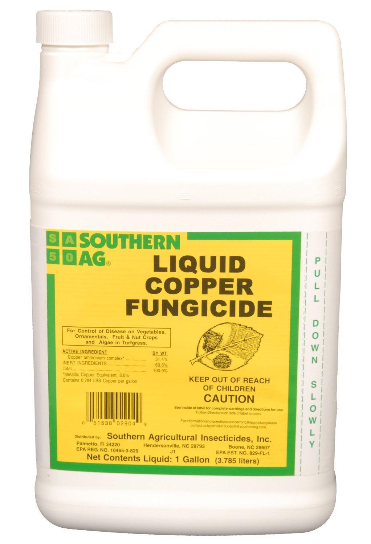 Amazon.com : Southern Ag Liquid Copper Fungicide, 128oz - 1 Gallon ...