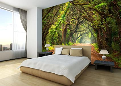 Remarkable Buy Envouge 3D Wallpaper Dense Forest Self Adhesive 6Ft X Download Free Architecture Designs Grimeyleaguecom