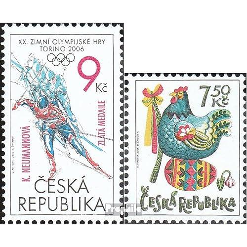 république tchèque 467,468 (complète.Edition.) 2006 Olympia, pâques (Timbres pour les collectionneurs)