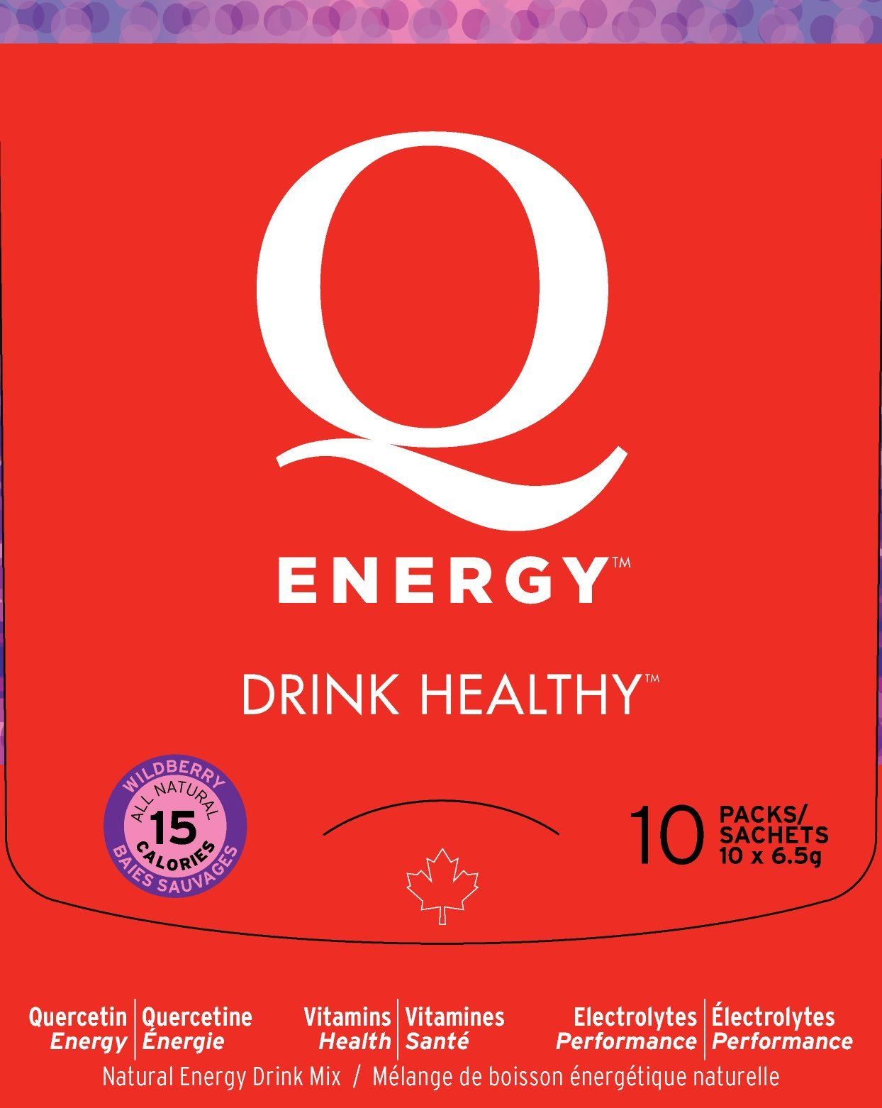 Q Energy - Drink Healthy Wildberry 10 Pack by Q Energy - Drink Healthy