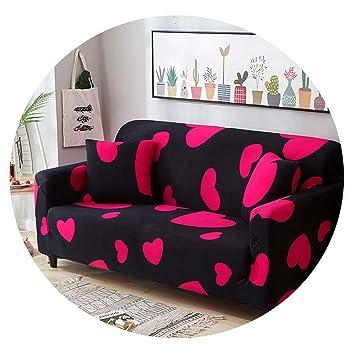 Amazon.com: Funda de sofá de tela elástica con estampado de ...