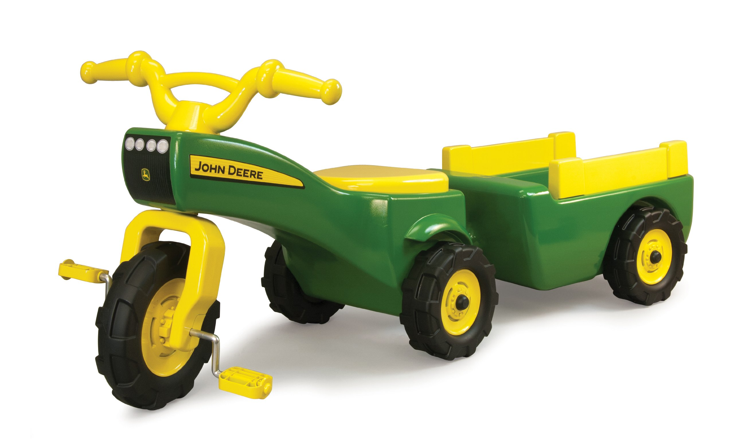 TOMY John Deere Pedal Tractor And Wagon by TOMY