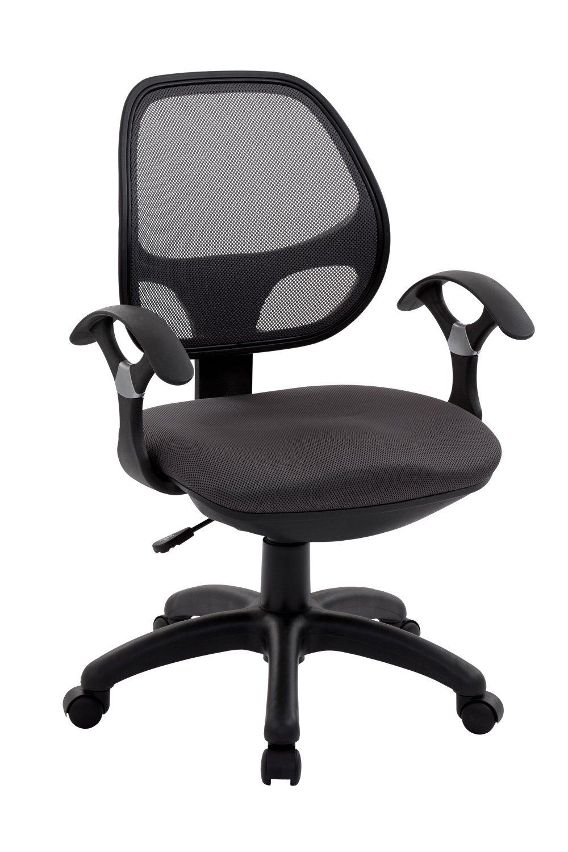 Techni Mobili Mid Back Mesh Task Chair, Black RTA-0097M-BK