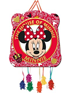Verbetena, 014000914, piñata basic disney minnie mouse. dimensiones: 28x33 centimetros.