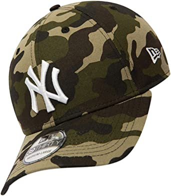 356984d17aa New Era Men Caps Flexfitted Cap MLB League Essential NY Yankees 39Thirty   Amazon.co.uk  Clothing