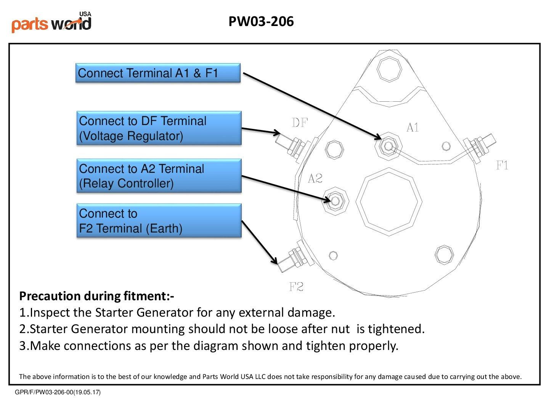 New Starter Generator Fit For Club Car Golf Cart Ds 2006 Wiring Diagram Series Fe290 Fe350 1984 1996 1018294 01 John Deere Utv Gator Tx Turf Lester 15435