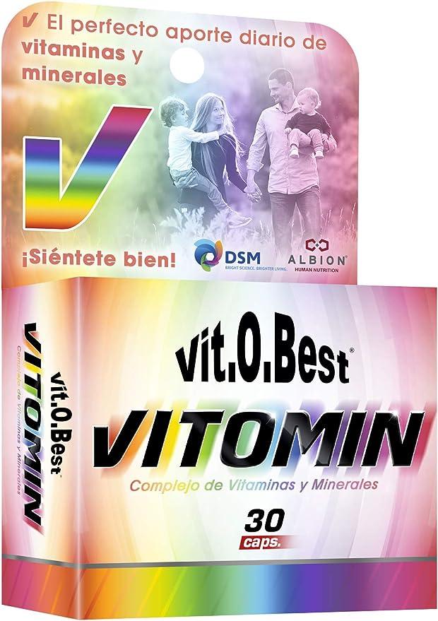 VITOMIN VITAMIN & MINERAL COMPLEX 30 Caps. - Suplementos ...