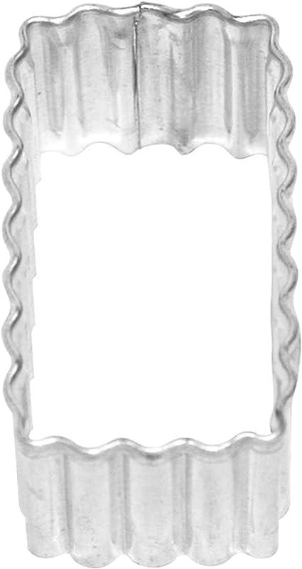 Birkmann Ausstechform Quadrat Ausstecher Plätzchenform Plätzchen Weißblech 5 cm