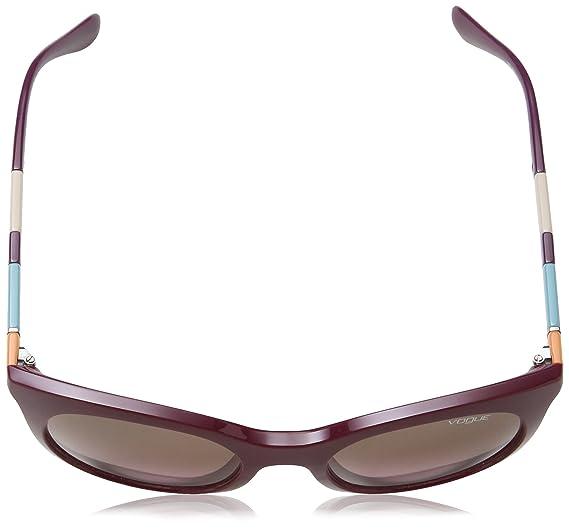 Amazon.com: Vogue 2971 232414 Burdeos Oscuro 2971s Gatos ...