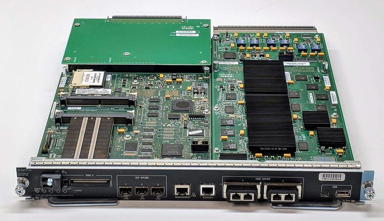 Cisco VS-S2T-10G Supervisor Engine VS-SUP2T-10G w// VS-F6K-PFC4-1 Year Warranty