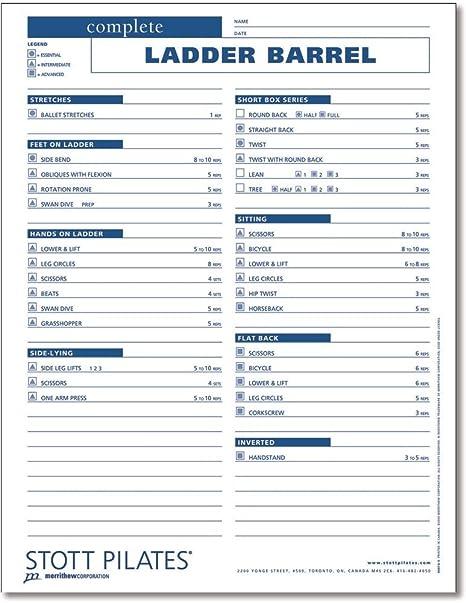 Workbook esl worksheets for adults : Amazon.com : STOTT PILATES Client Workout Sheets - Advanced ...