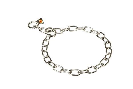 08f0aa61d13c5 Herm Sprenger Fur Saver Collar Stainless Steel 1/9 inch (3 mm) link diameter