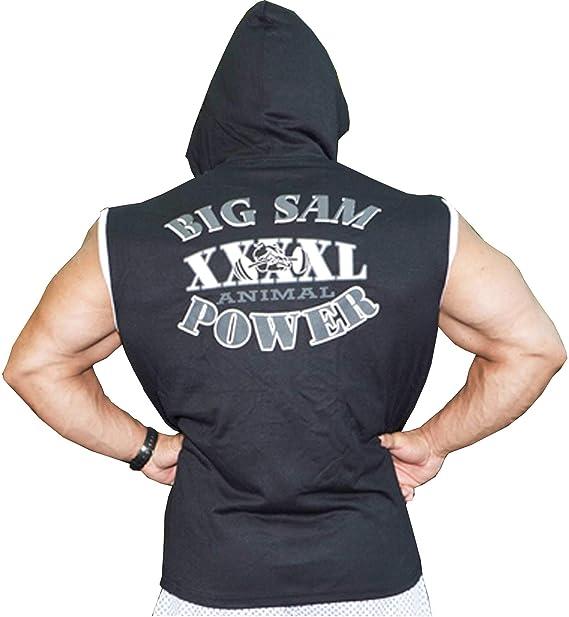 Big SM Extreme Sportswear Muscle Shirt Débardeur aisselle shirt musculation 2241