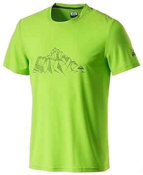 McKinley h-t-shirt Clay verde lima - M