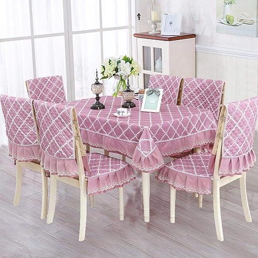 Juego de sillas de mesa chino Juego de tapicería para el hogar Europeo simple silla de