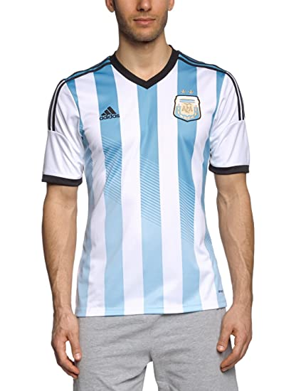 3fc4c962096 Buy adidas Argentina Home Jersey, Medium (White/Blue) Online at Low ...