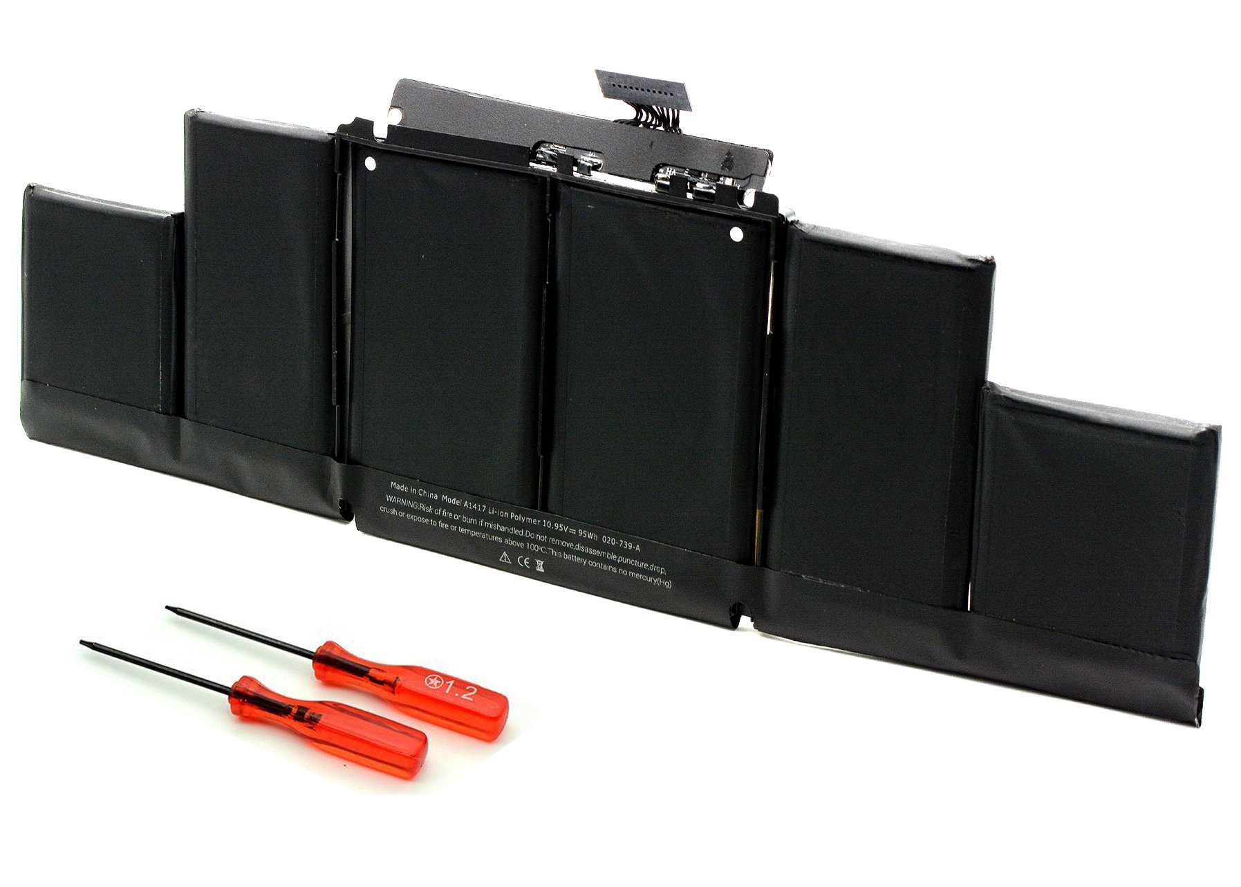 Bateria A1417 Macbook Pro 15 Retina A1398 Mid-2012 Early-201