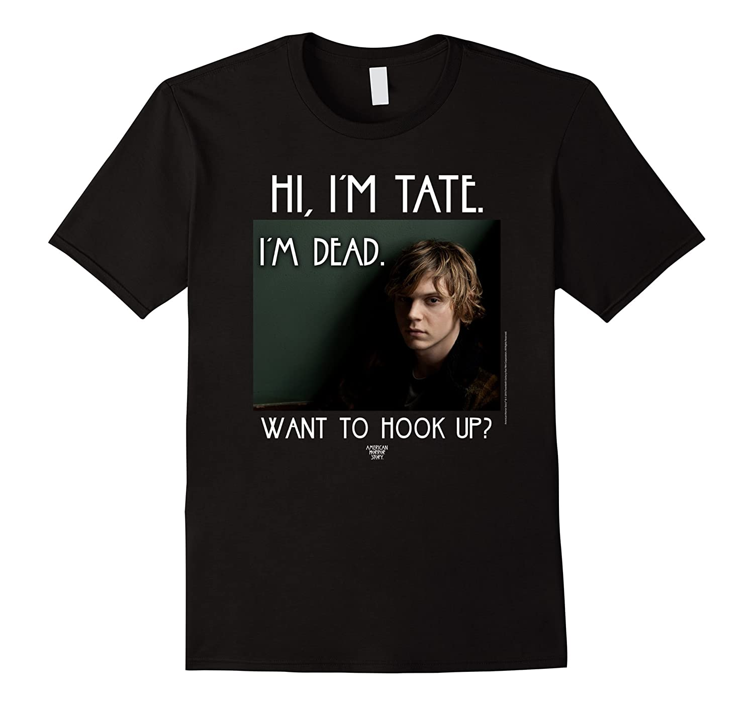 American Horror Story Want To Hook Up-T-Shirt
