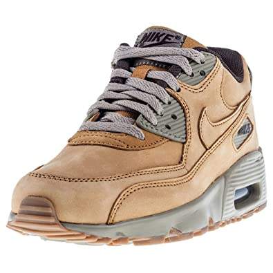 best service 1f9f7 ee30d Nike Air Max 90 GS 943747-700, Sneakers Basses Mixte Enfant, Beige,