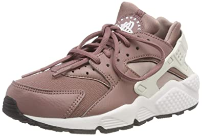 9baa8cd6a9c Nike Women s s WMNS Air Huarache Run Fitness Shoes Multicolour (Smokey  Mauve Summit White