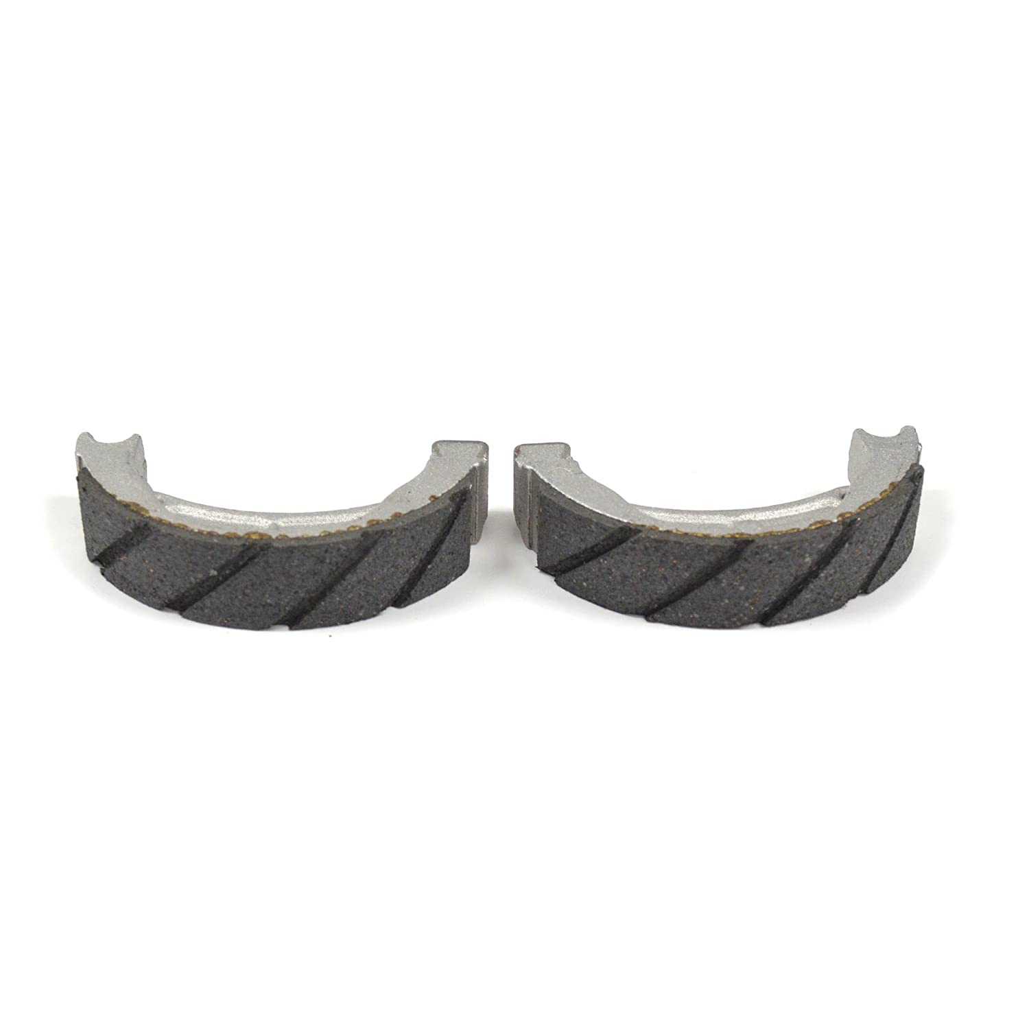 Kawasaki KX60 83-03 Rear Grooved Brake Shoes by Niche Cycle Supply