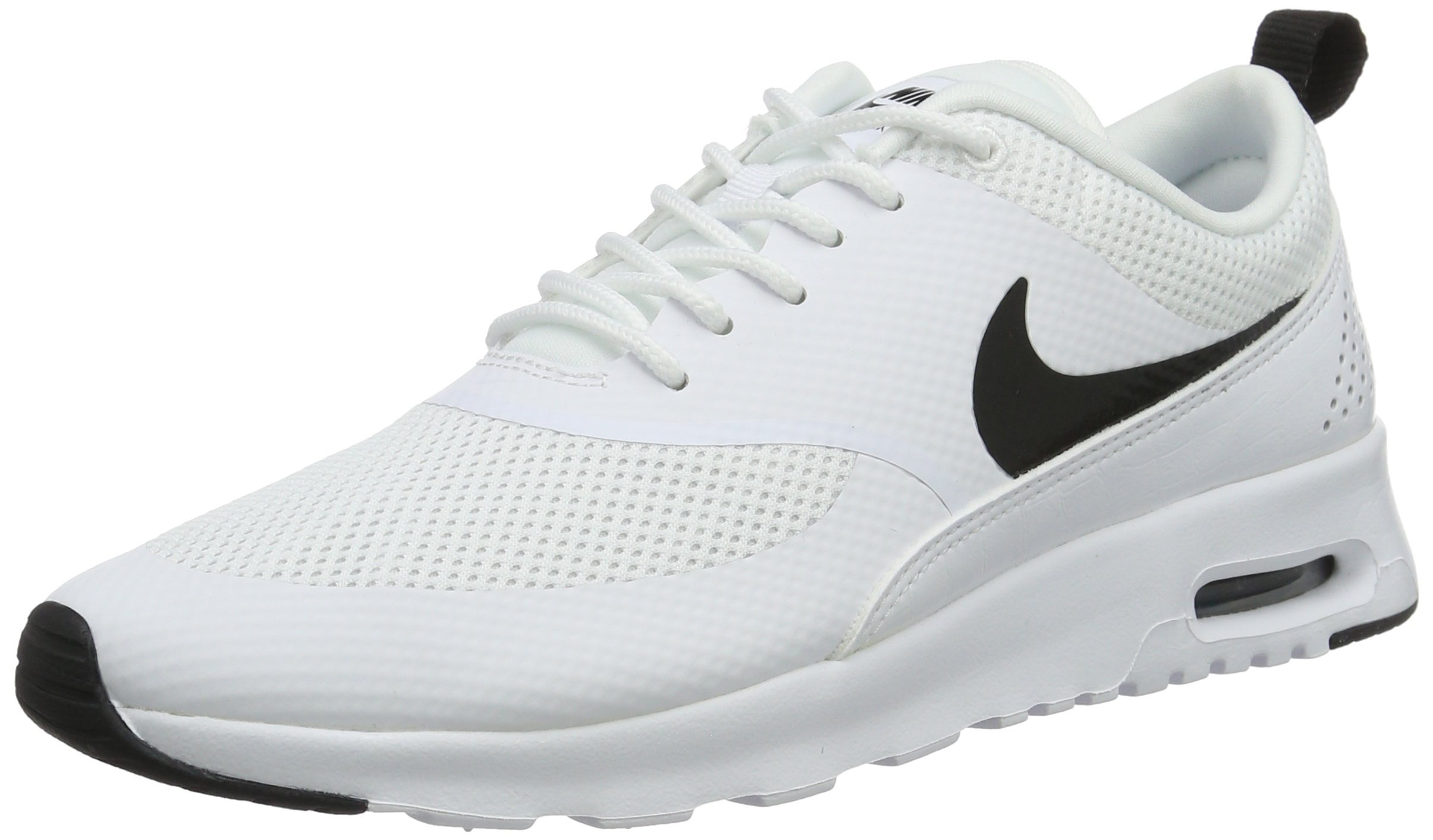 a6720eba73 Galleon - Nike Womens Air Max Thea Running Shoes White/Black 599409-103  Size 8.5