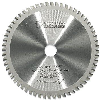 42 Zähne Bosch Kreissägeblatt MultiMaterial 160 mm x 20//16 mm