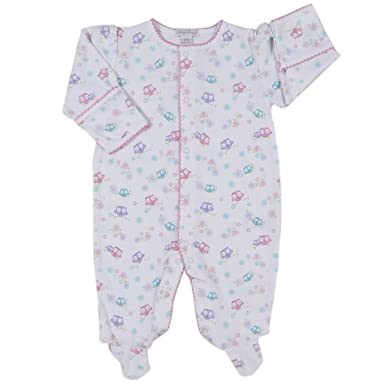 1fbc0024e Kissy Kissy Baby-Girls Infant What A Hoot Print Footie-multicolored-Newborn