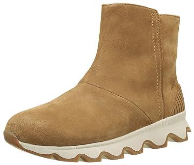 5986c9f895 Amazon.com | SOREL Women's Kinetic Short Booties | Snow Boots