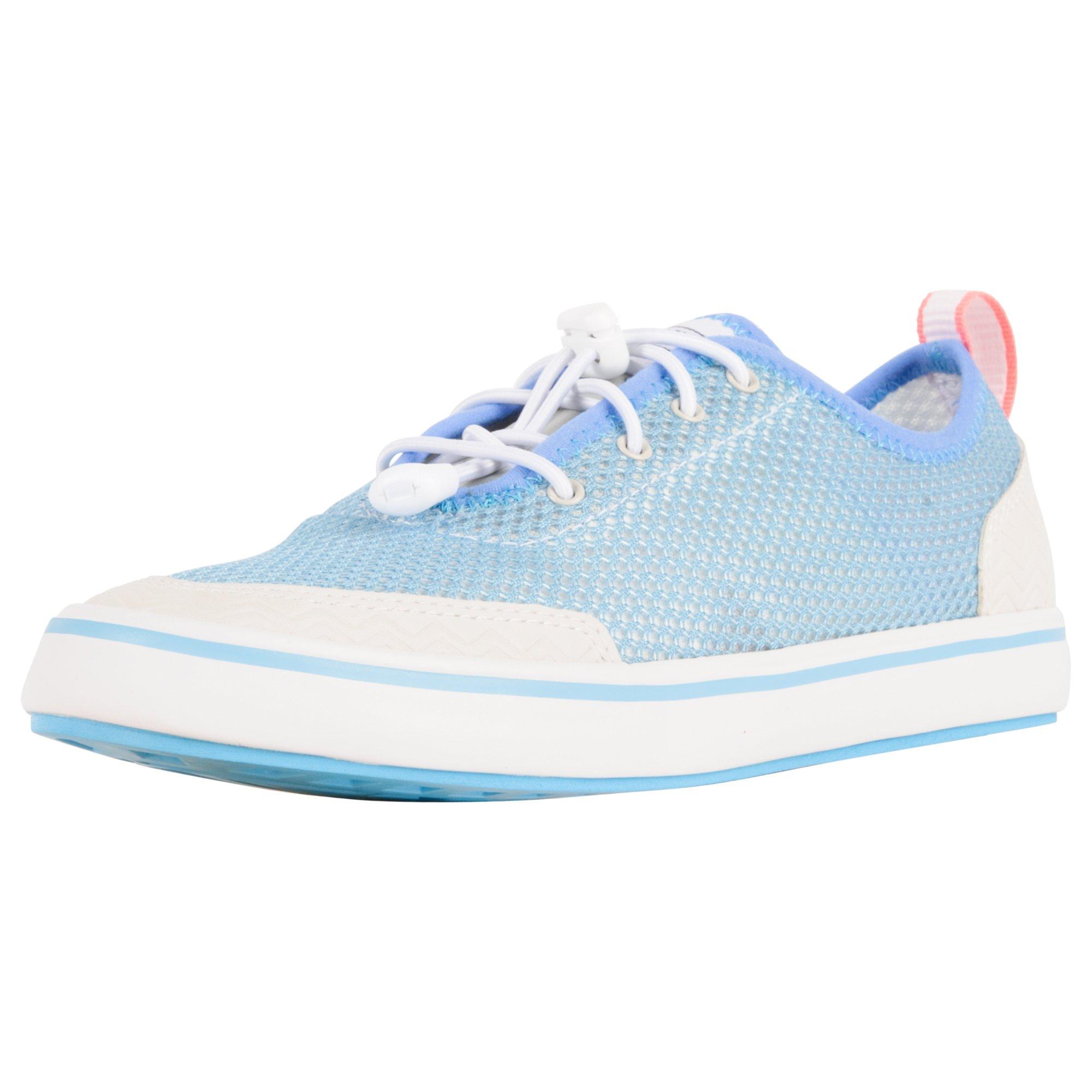 XTRATUF Riptide Women's Airmesh Deck Shoes, Blue & White (22202)