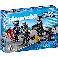 PLAYMOBIL- Equipo de Las Fuerzas Especiales Juguete, Multicolor