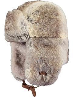 539f7ff8ef0 Barts Hats Corduroy Rib Faux Fur Trapper Hat - Pink 1-Size  Amazon ...