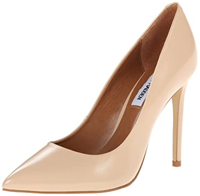 Steve Madden Women's Proto Dress Pump, Blush Leather, ...