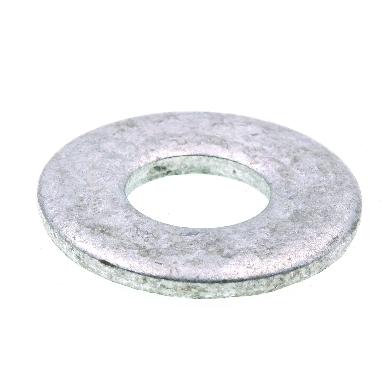 Prime Line 9080082 Flat Washers USS 3 8 in. X 1 in. OD Hot Dip Galvanized Steel 50 Pack