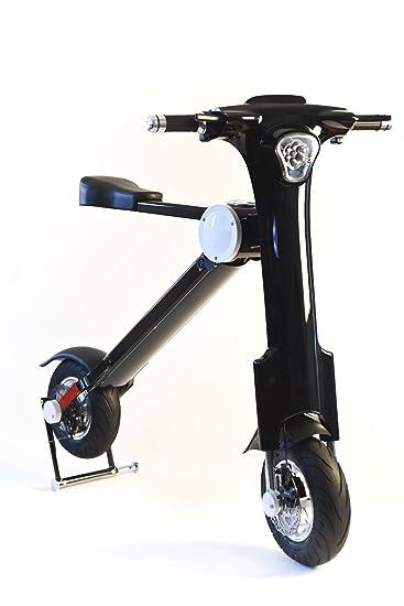 Amazon Com Ebyke E20 20 Mph Electric Folding Scooter Sports