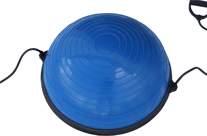 Lisaro Balance Ball//Balancierball Balance Ball mit 2 Zugb/ändern beidseitig nutzbar Ideal f/ür Yoga Gymnastik mit Pumpe