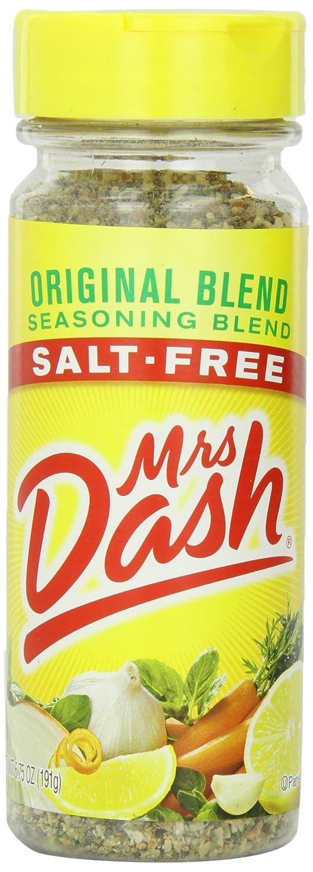 Mrs Dash Original Salt Free Blend, 6.75-Ounce Units (Pack of 6)