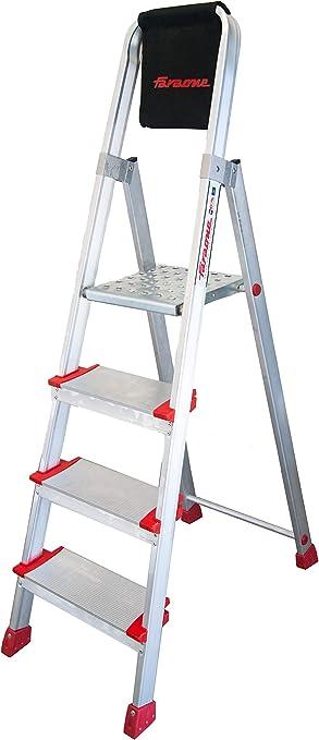 Faraone EN 944 Escalera Profesional de Tijera, Metálico: Amazon.es: Bricolaje y herramientas