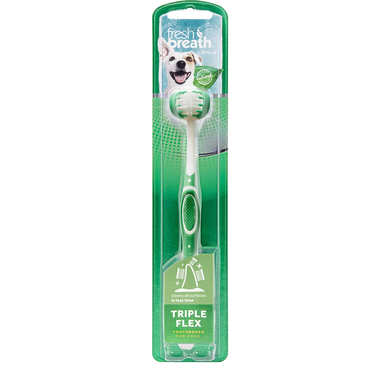 TropiClean Fresh Breath Oral Care Kit for Pets