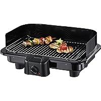 SEVERIN Gril Barbecue, Gril de table, Surface du Gril (41x26cm), 2.500W, PG 2791, Noir (Certifié Reconditionné)