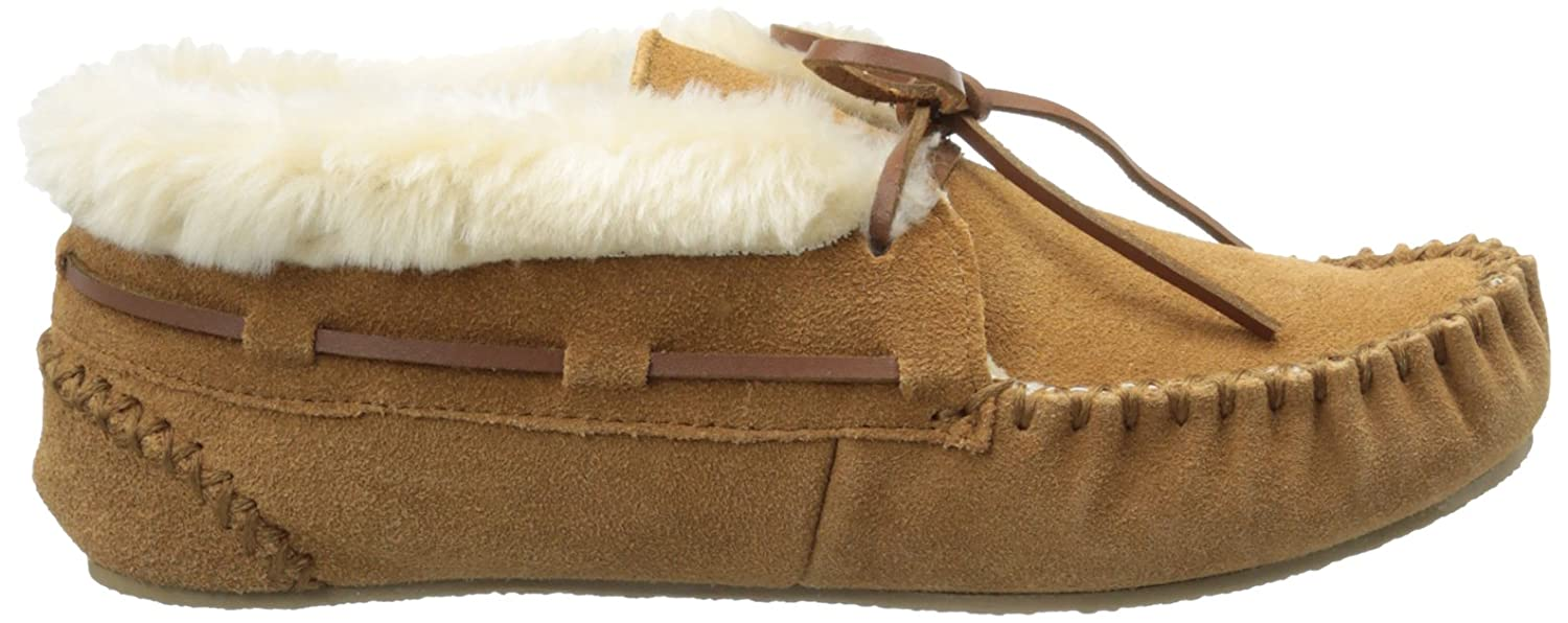 Minnetonka Women's Bootie Chrissy Slipper Bootie Women's B074GG5CBY Moccasin 271682