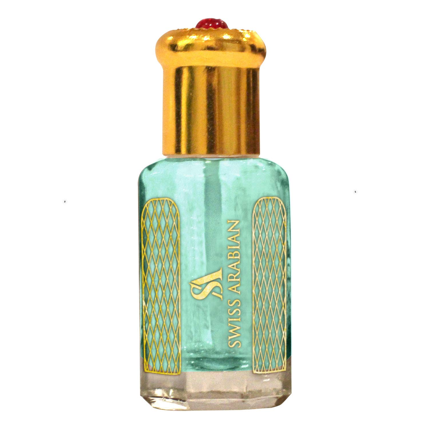 SEA BREEZE 12mL | Artisanal Hand Crafted Perfume Oil Fragrance for Women and for Men | Traditional Attar Style Cologne | by Perfumer Swiss Arabian Oud | Gift/Party Favor | Body Oil