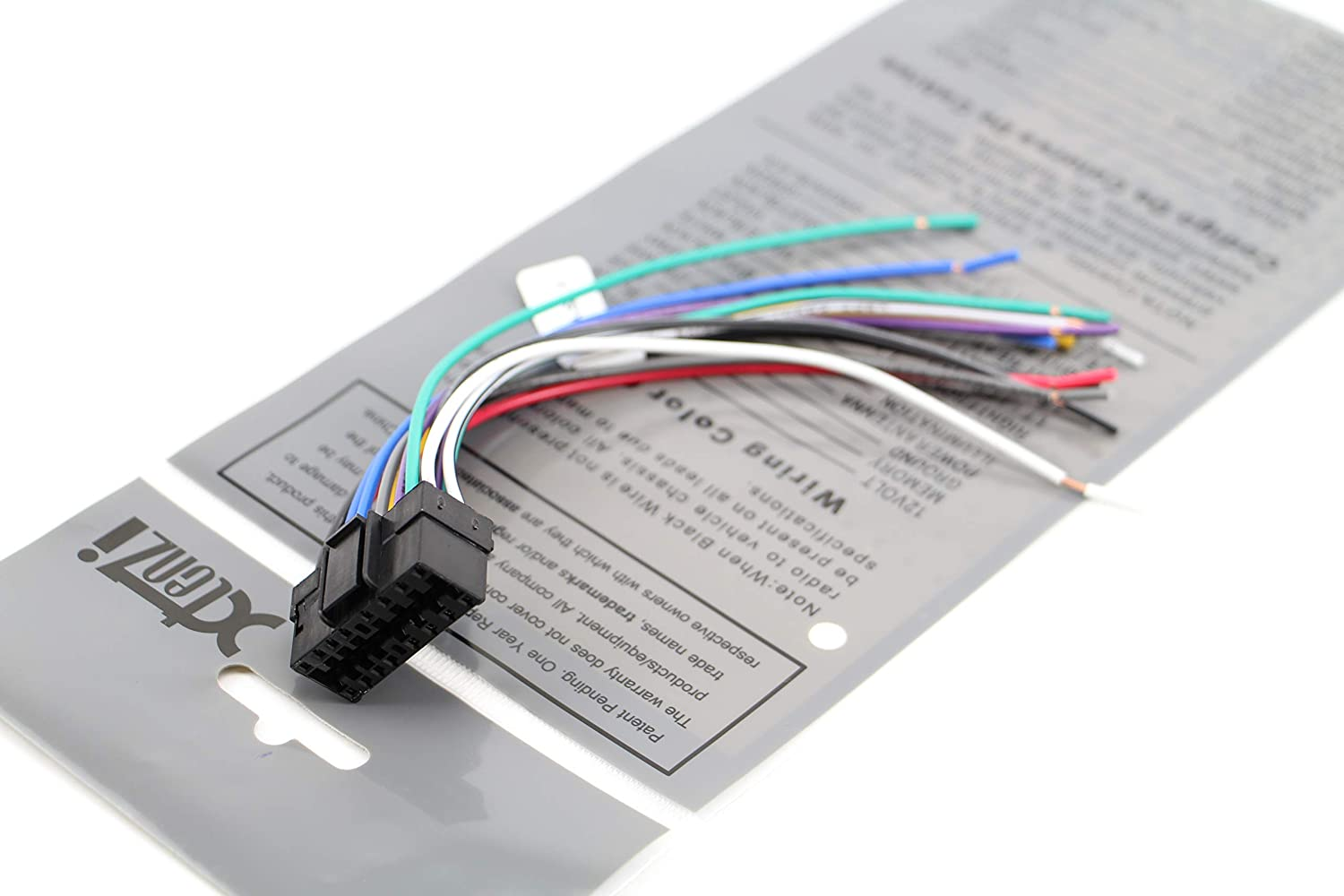 Sony 16 Pin Wiring Harness Diagram Also Sony Cdx Gt500 Wiring Diagram