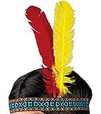 Boland 44120 - Stirnband Indianer, Einheitsgröße, mehrfarbig