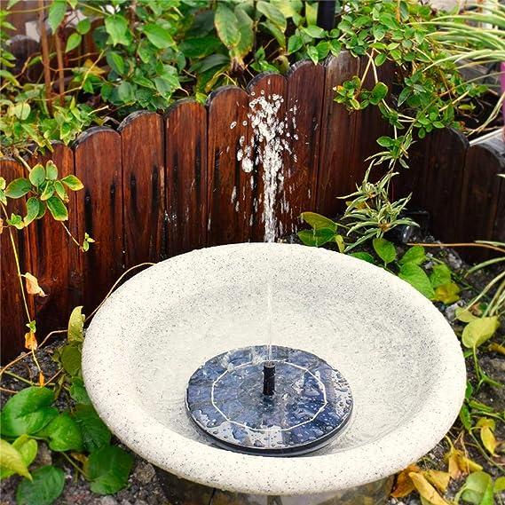 D.ragon - Fuente Solar para bañera, 1,8 W, Fuente de Agua para bañera de jardín/Piscina/Estanque/jardín/Acuario/baño de pájaros Fit: Amazon.es: Hogar
