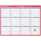AT-A-GLANCE Yearly Wall Calendar 2016, Erasable, 2-Sided, Compact, 12 x 15-11/16 Inches (PM330B-28)