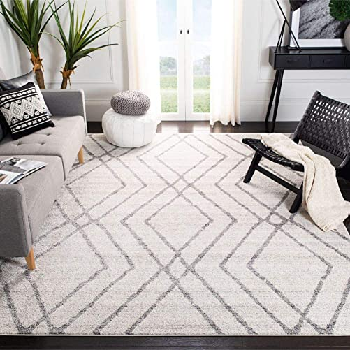 Safavieh Adirondack Collection ADR162A Modern Moroccan Non-Shedding Stain Resistant Living Room Bedroom Area Rug