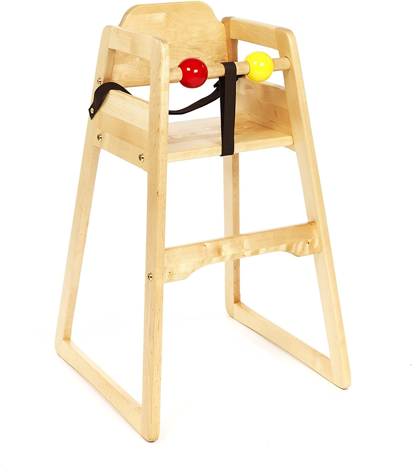 The Award Winning Original No Tray High Chair Stackable Baby Childrens Feeding Wooden Restaurant or Home High Chair All Our High Chairs Come With 1