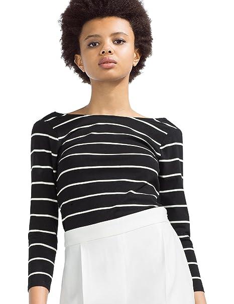 Zara Camiseta algodón orgánico, talla S