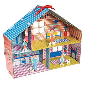 Dotcomgiftshop Make Your Own Dolls House Amazon Co Uk Toys Games